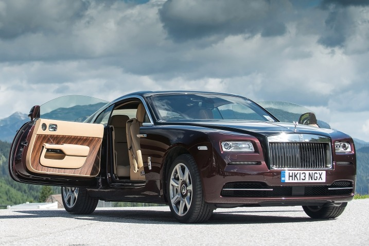 Của xe của Rolls-Royce Wraith Coupe 2014 1