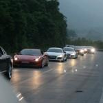 Phạt ô tô bao nhiêu tiền nếu không bật đèn xe khi trời tối?