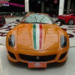 Ferrari 599 GTO màu độc xuất hiện ở Trung Quốc