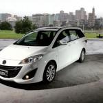 Mazda5 có không gian dành cho trẻ em và khoang chứa đồ nhỏ hơn nhiều so với các minivan khác