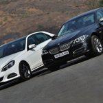 so sanh xe BMW Series 5 và Mer EClass (3)